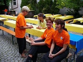 Photo: Unsere Helferinnen.