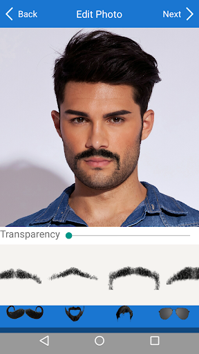 Men Mustache Beard Haircuts  screenshots 2
