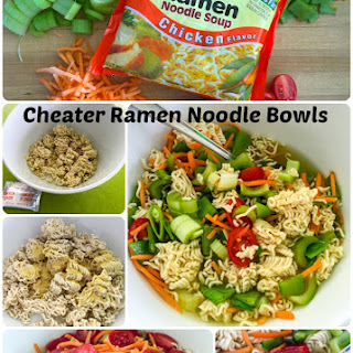 Easy Eats - Cheater Ramen Noodle Bowl.