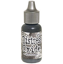 Tim Holtz Distress Oxide Ink Reinker 14ml - Black Soot