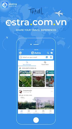 Astra - Travel Social Network screenshot 1
