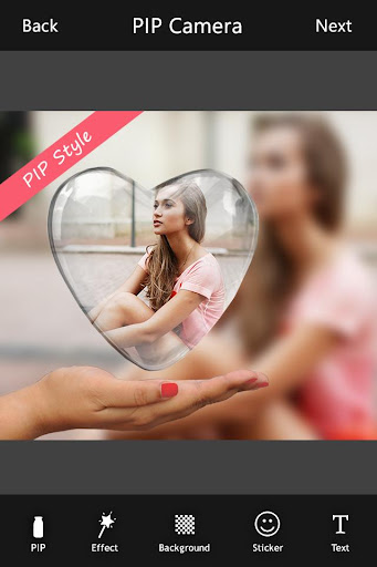 PIP Camera : Photo Editor for PC
