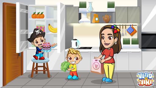 Vlad & Niki Supermarket game for Kids screenshots 3