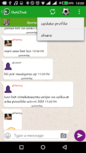 BetChat Kenya screenshot 2