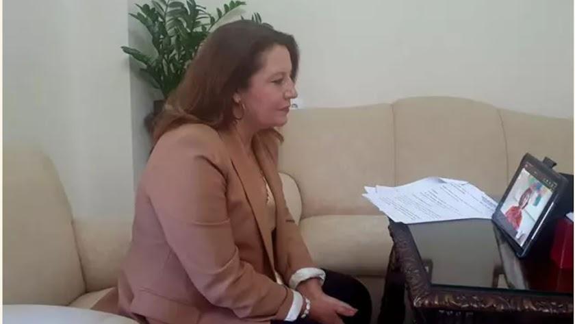 """Carmen Crespo pone a Rocío Medina como \""""ejemplo de mujer empresaria."""