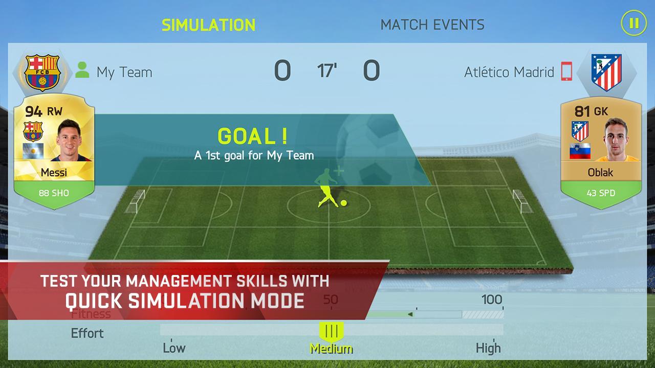 FIFA 15 Soccer Ultimate Team screenshot #3