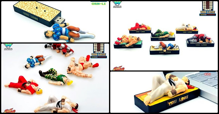 [Street Fighter II] USB Memory [YOU LOSE]!
