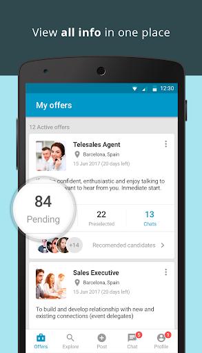 CornerJob - Job offers, Recruitment, Job Search 1.6 screenshots 7