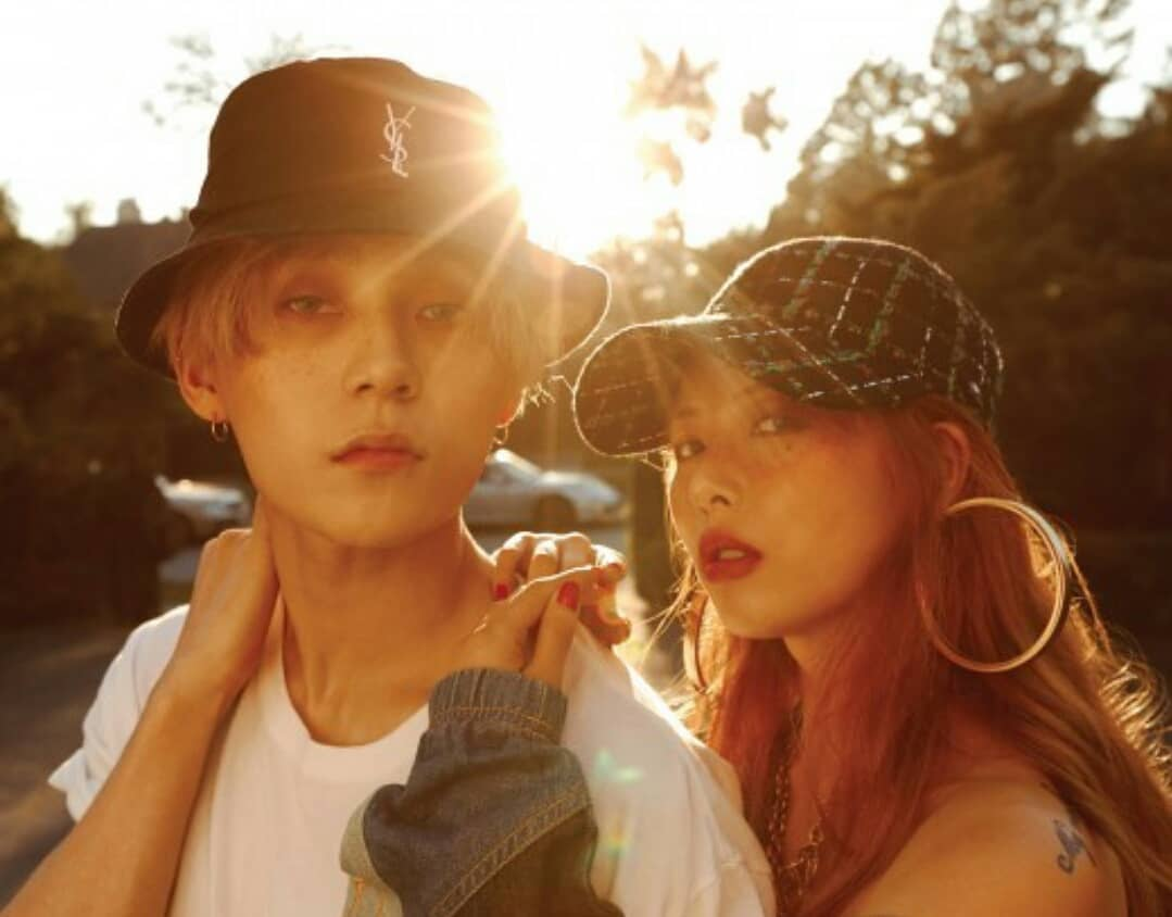 Image result for hyuna and dawn in relationship for how many years
