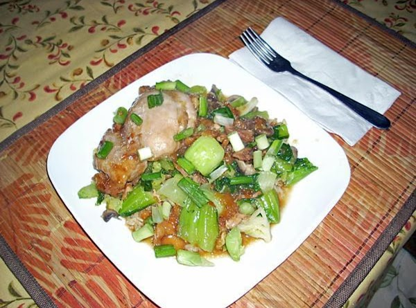 Moo Goo Gai Pan Recipe