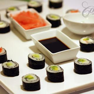 Homemade Sushi.