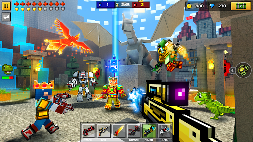 Pixel Gun 3D: Survival shooter & Battle Royale  captures d'écran 3
