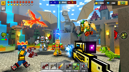 Pixel Gun 3D: Survival shooter & Battle Royale APK screenshot thumbnail 3