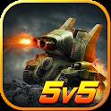 Rise of Tanks - 5v5 Online Tank Battle icon