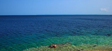 Photo: Flowerpot Island in the Fathom Five Marine Park