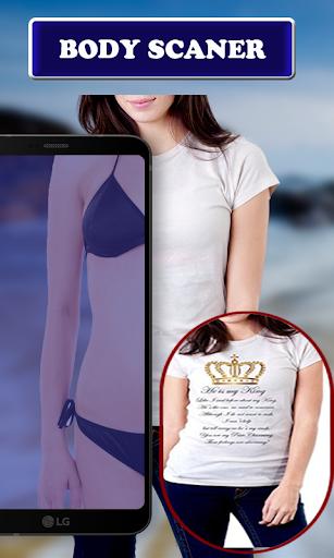Full Audery Body scanner Real Camera Prank 2020 screenshot 4