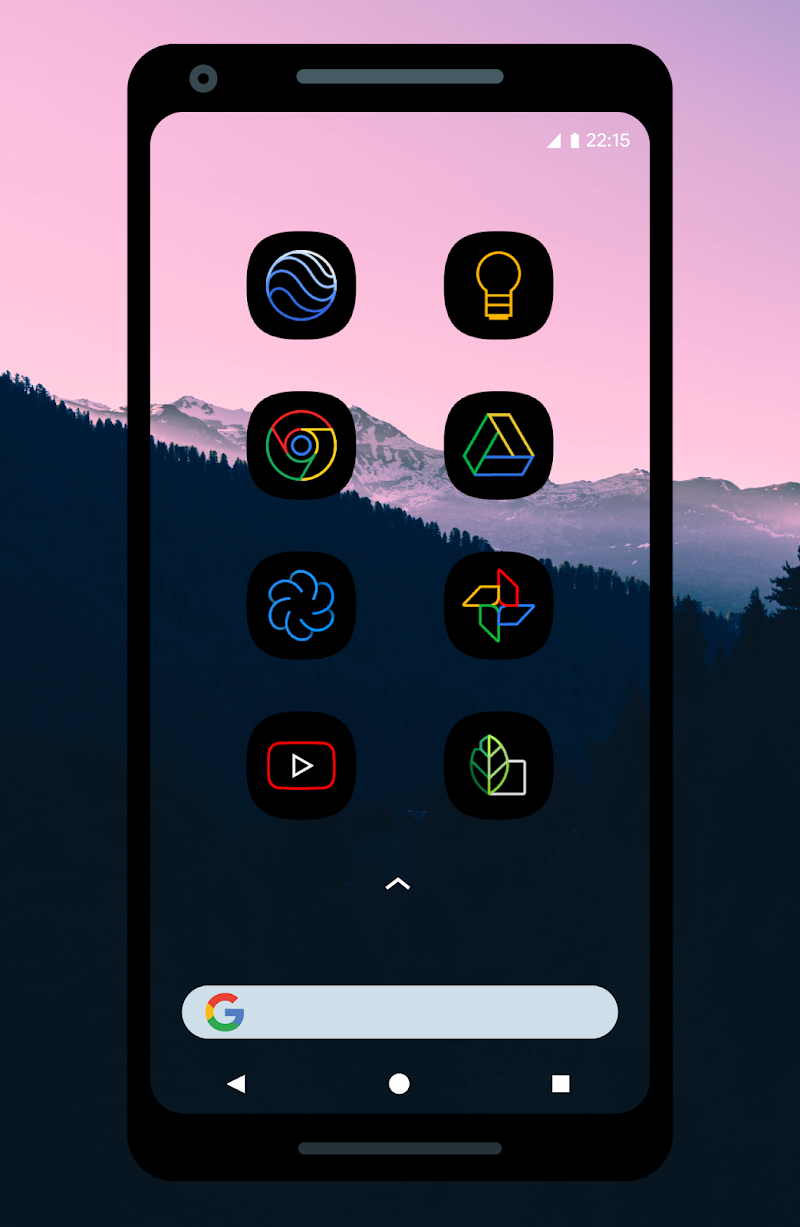 UX Led - Icon Pack Screenshot 0