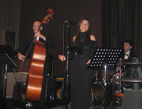 Photo: On stage at the Maduro Lounge