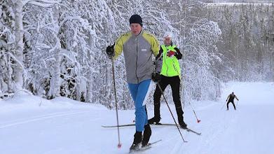 Photo: Лыжи-то не едут!