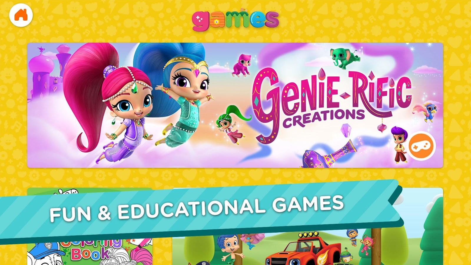 Nick Jr. - Shows & Games- screenshot