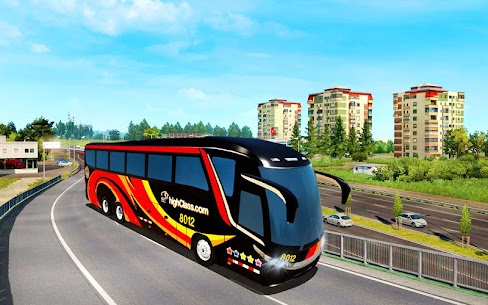 City Coach Bus Driving Simulator 3D: City Bus Game 4
