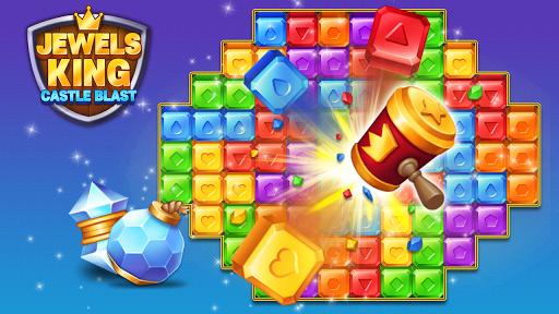 Jewels King : Castle Blast apkpoly screenshots 17