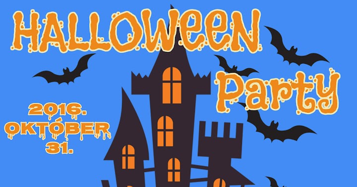 Halloween party 2016 október 31
