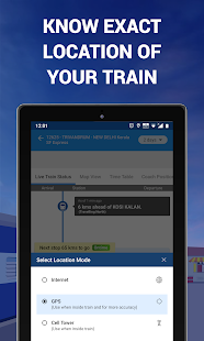 App IRCTC Train, NTES Live Rail Running & PNR Status APK for Windows Phone