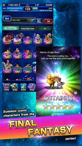 FINAL FANTASY  BRAVE EXVIUS apkpoly screenshots 21