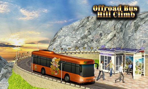 Offroad Bus - Coach Driving 3D