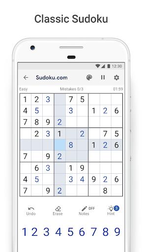 Sudoku.com - Free Sudoku Puzzles screenshot 1