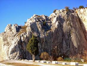 Photo: La falesia di Sistiana, settore Panza dell'Elefante. La descrizione delle vie:http://www.webandana.com/crags/ts/sistiana.html#sectorA