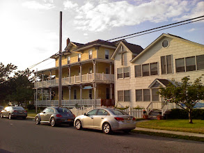 Photo: The location is not far from the Cape May Lighthouse. It's beam partially illuminated the house catty-corner to the center. http://www.lighthousefriends.com/light.asp?ID=389