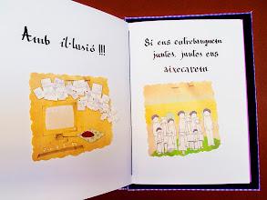 Photo: Llibre d'encàrrec dissenyat i enquadernat a mà per Ferran Cerdans Serra de Llibres Artesans Il·lustracions d'Anna Terricabras