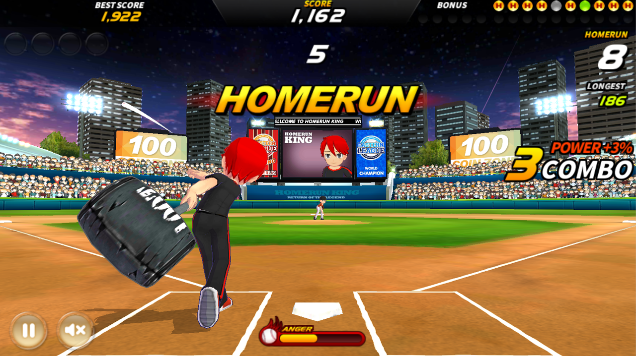 Homerun King Pro Baseball Android Apps On Google Play