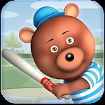 Bear Baseball Icon