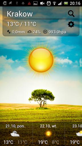 Cute Weather screenshot 1