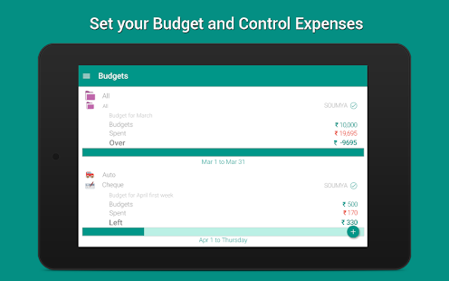 Expense Manager & Money Saver- screenshot thumbnail