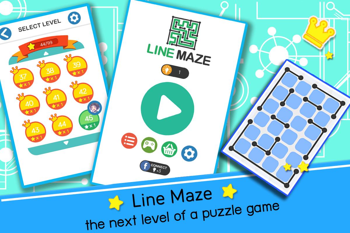 Line Maze Puzzles– captură de ecran