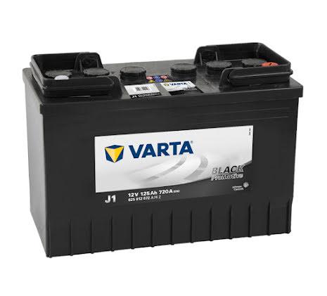 Startbatteri Varta 12V 125Ah