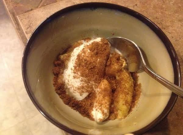 Bbq Banana's & Ice Cream Recipe