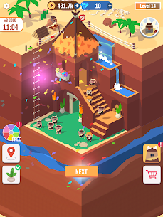 Idle Digging Tycoon Mod Apk 1.1.5 (Unlimited Money + Gems) 8