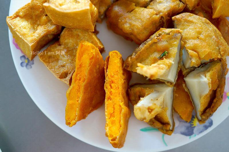進化北路無名炸粿,北屯市場下午茶-8