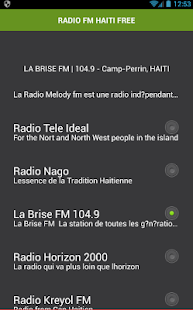 RADIO FM HAITI ZDARMA - náhled