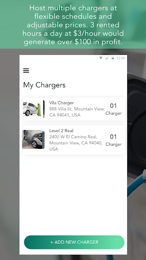 Screenshot for ampUp - reserved EV charging in United States Play Store