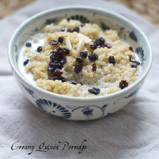 Creamy Quinoa Porridge with Coconut Milk and Spices