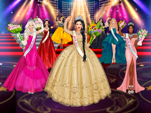 Beauty Queen Dress Up - Star Girl Fashion 1.0.9 screenshots 9