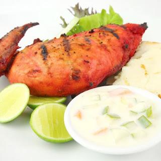 Amritsari Tandoori Chicken.