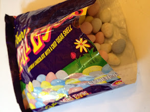 Photo: I ate my share of these tasty little speckled candy eggs before I even started on repackaging them.