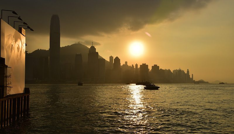 Hong Kong di Violeonardo